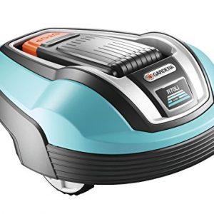 Gardena-407220-tondeuse-robot-R70Li-Robot-tondeuse--gazon-Idal-pour-tondre-des-surfaces-jusqu-env700-m-tond-aussi-en-cas-de-pluie-les-coupes-dherbe-servent-dengrais-pour-gazon-anti-vol-avec-scurit-cod-0